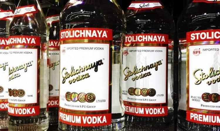 Как известно, производить водку Столичная начали еще в СССР.