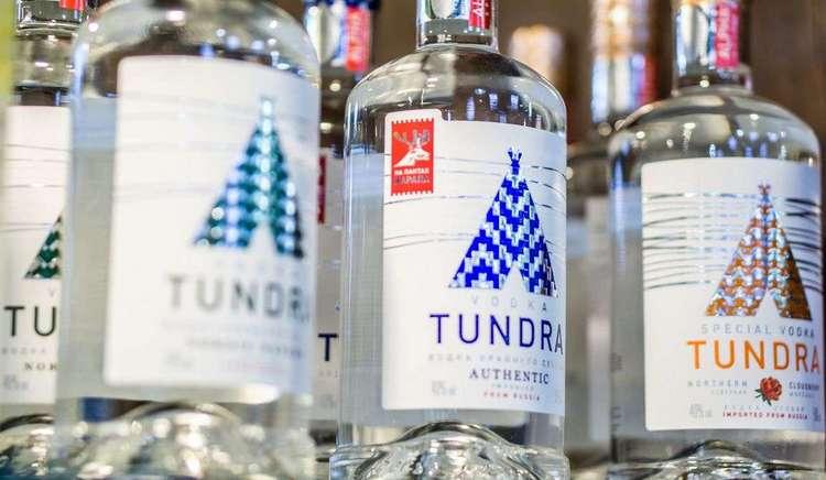 Водка Тундра Authentic является очень популярной.