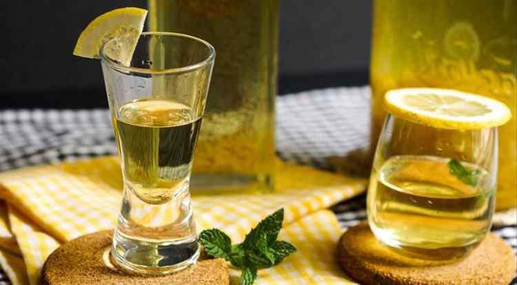 Водка из самоногона лимонный рецепт