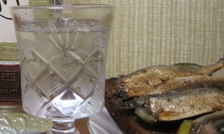выдержанная ржаная водка имеет особый аромат.