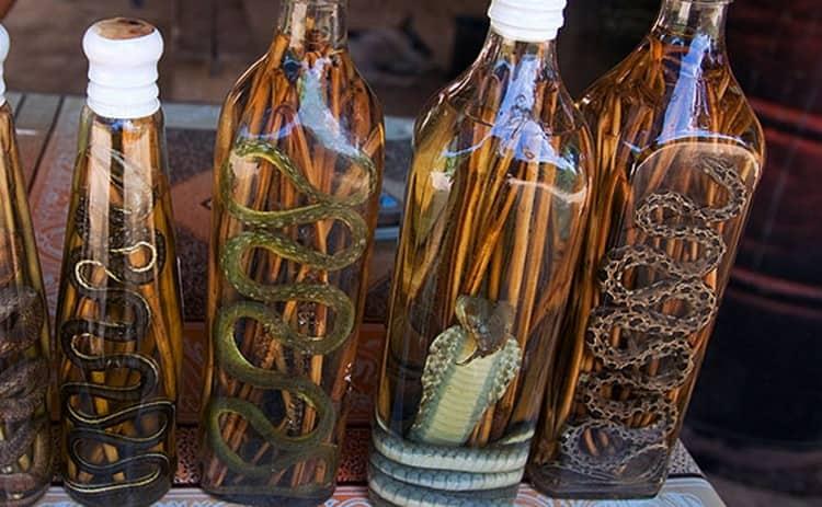 Вьетнамская настойка на кобре имеет свою богатую историю, связанную с легендой.