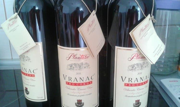 Вино из этого сорта винограда обладает особенными нотками во вкусе и аромате, так как виноград выращивается исключительно в некоторых регионах.