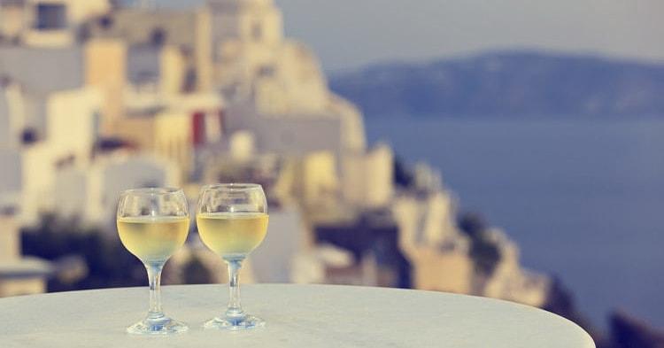 белые вина греции
