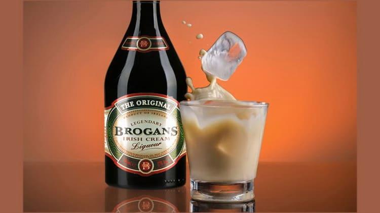 как правильно подавать ликер brogans irish cream