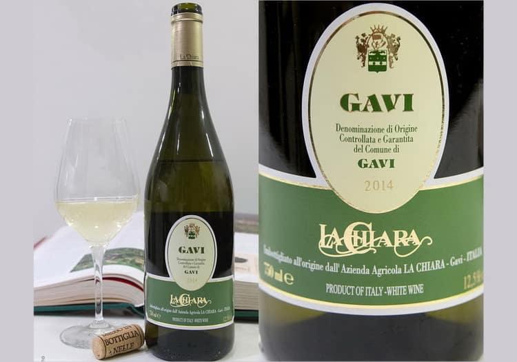 Дегустационные характеристики вина гави