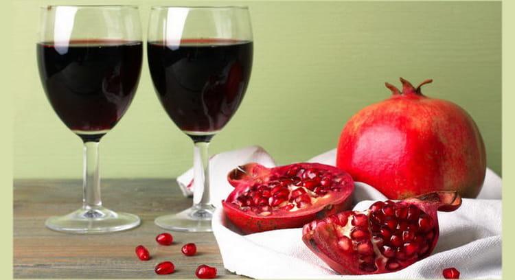 Обзор на армянское гранатовое вино