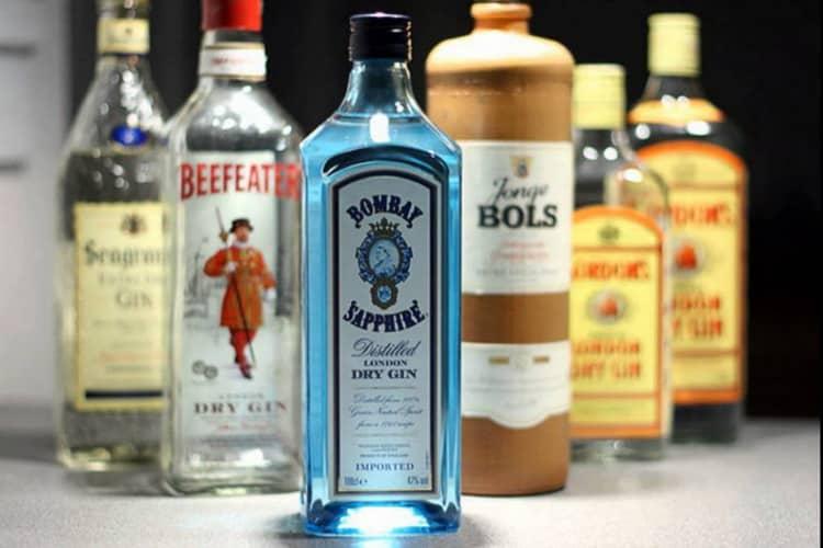 Как подавать джин напиток