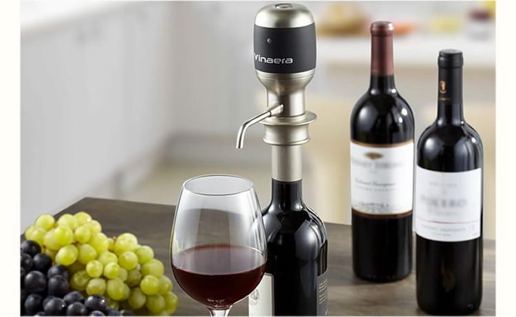 Обзор на электрический винный аэратор