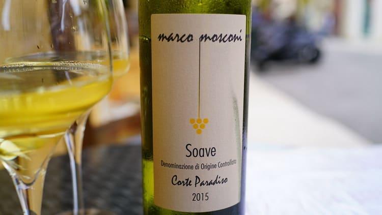 Как правильно подавать белое сухое вино soave