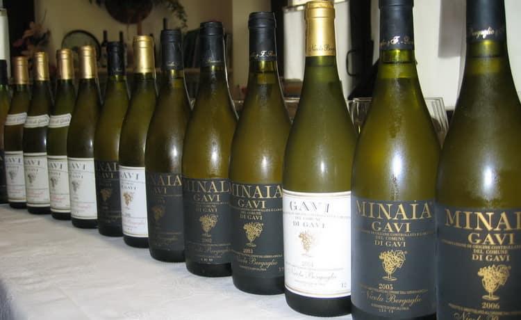 виды вина гави