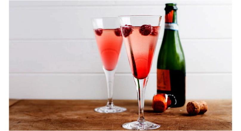 коктейли из шампанского