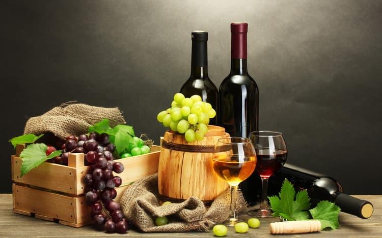 Какое лечение красным вином