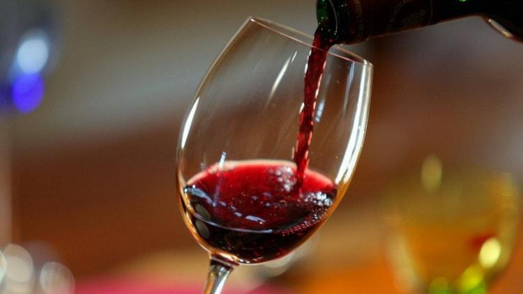 лечение вином