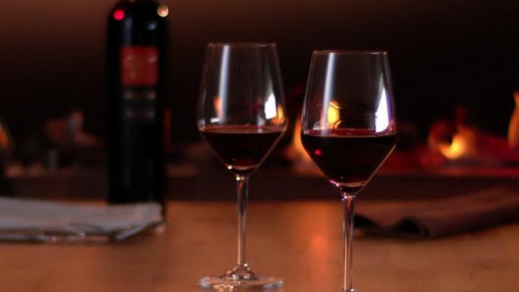 Как подавать красное сухое вино rioja