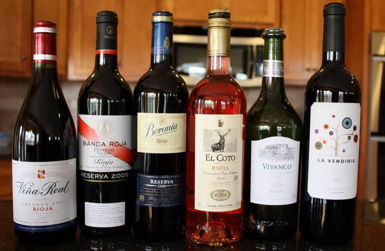 Виды вина риоха