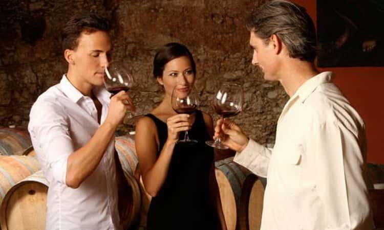 Как правильно пить вина калифорнии
