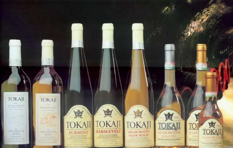 Виды токайское вино венгрия