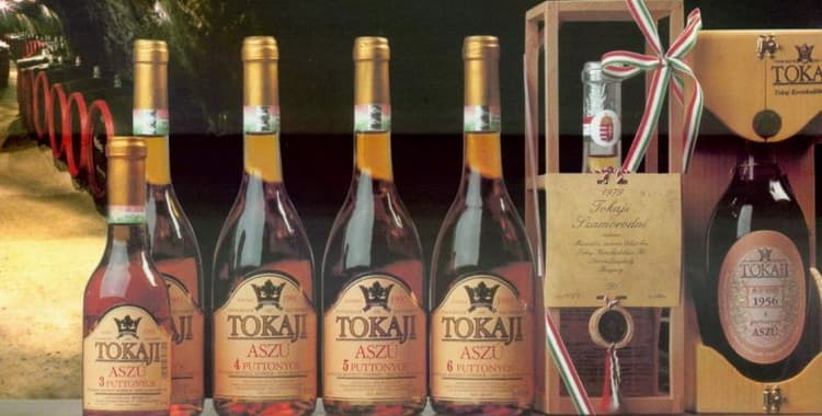 Токайское самородное вино