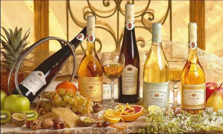 Как и с чем подавать венгерское белое вино