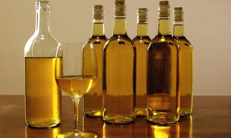 Готовое вино из изюма