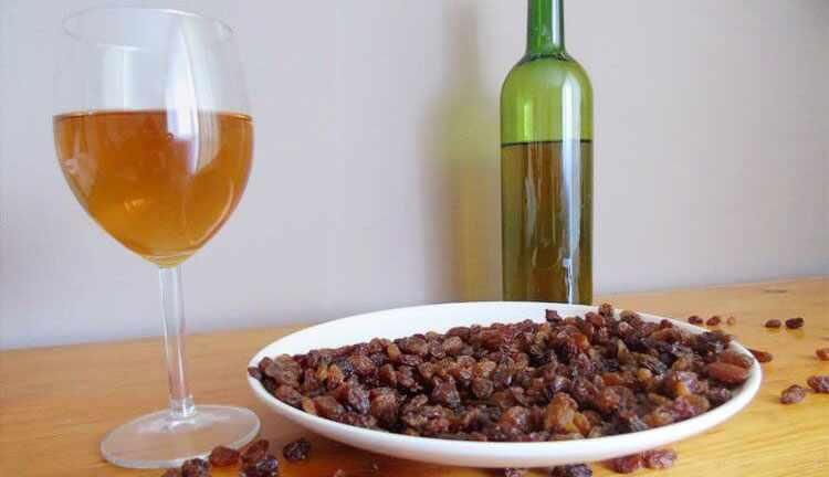 Как приготовить вино из изюма