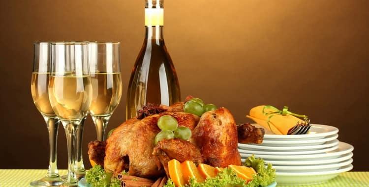 Какое вино подходит к курице