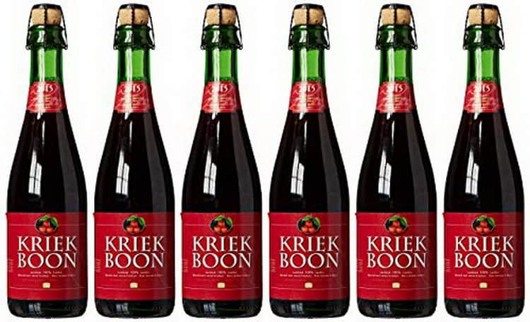 Какое название у пива с вишней.