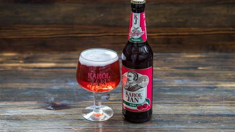 Как изготавливают бельгийское вишневое пиво