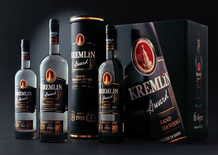 С чем подается kremlin award водка