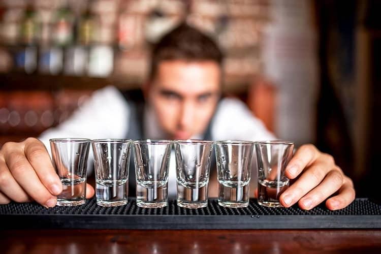 Как правильно подавать водку русский бриллиант
