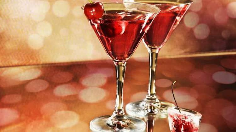 Как готовится водка с вишневым соком