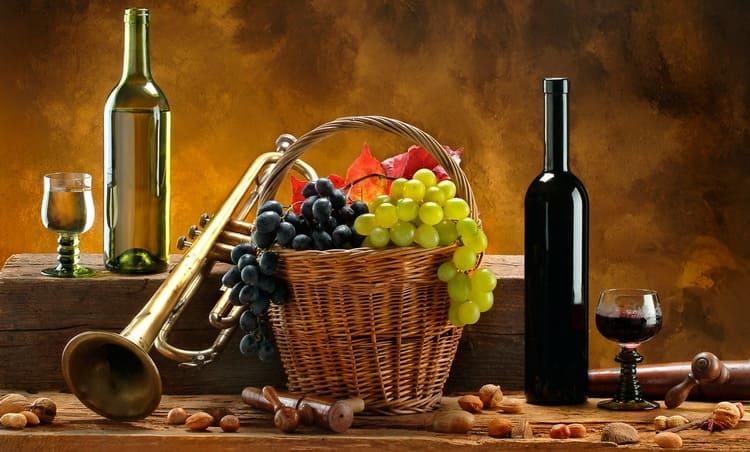 Где проходит выдержка вина