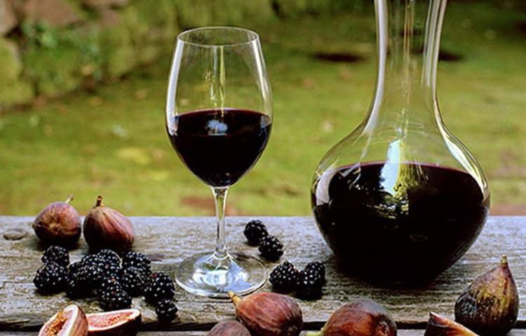 Как создавалось ежевичное вино