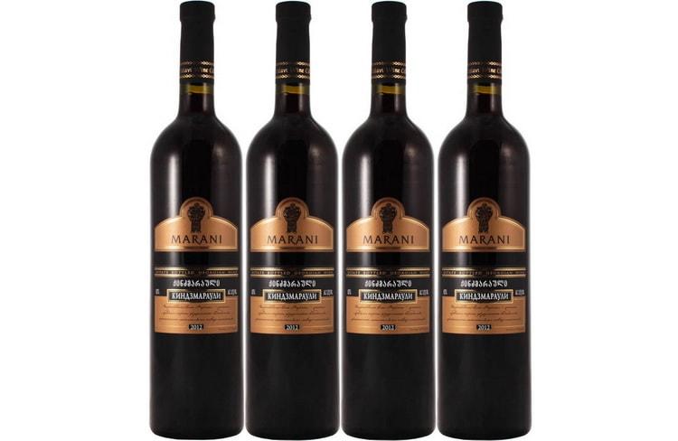 Как производят вино красное полусладкое киндзмараули