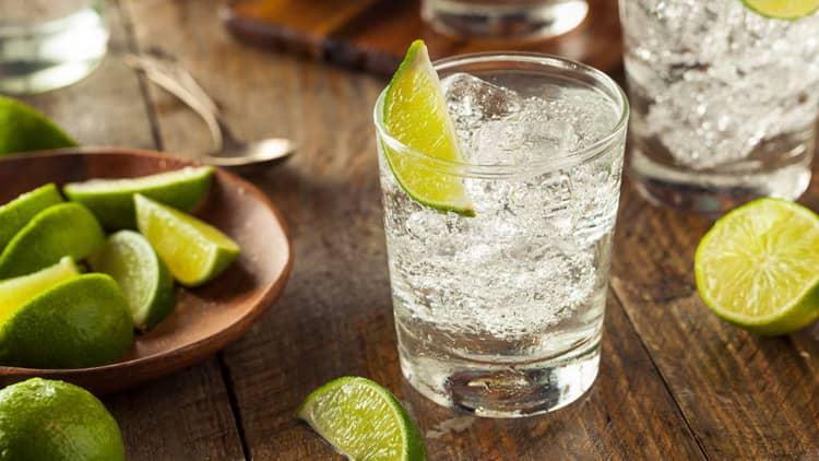 классический рецепт джин тоник