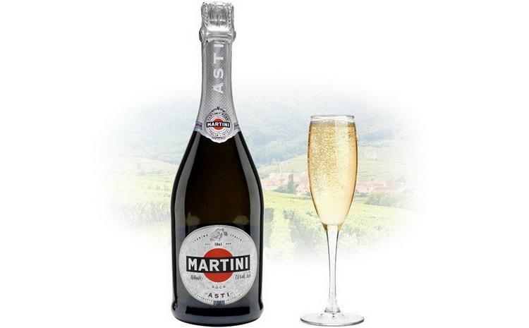 полусладкое итальянское шампанское