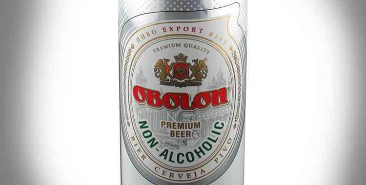 Безалкогольное пиво Оболонь