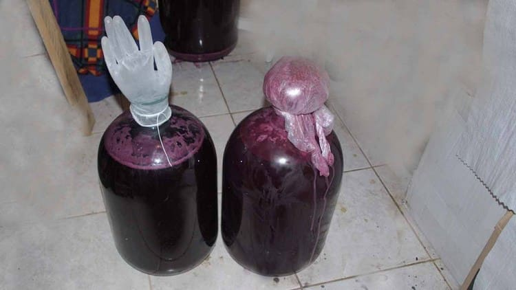 Узнайте, что делать, если вино зауксилось.