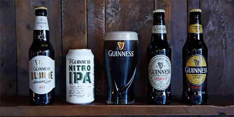 Ирландское пиво Guinness Nitro IPA.
