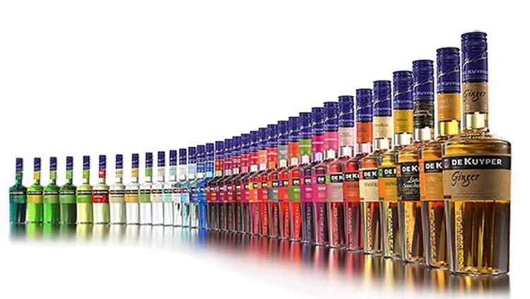 Ликер Де Кайпер разные виды напитка