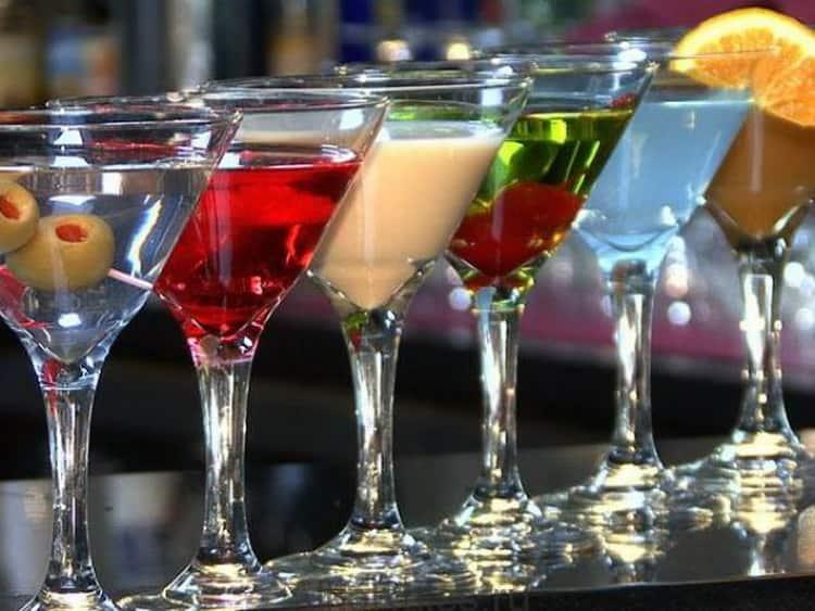 Как правильно пить мартини бьянко