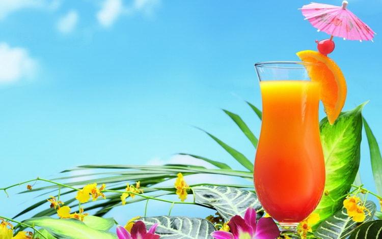 Тропический рай алкогольный коктейл для девушек