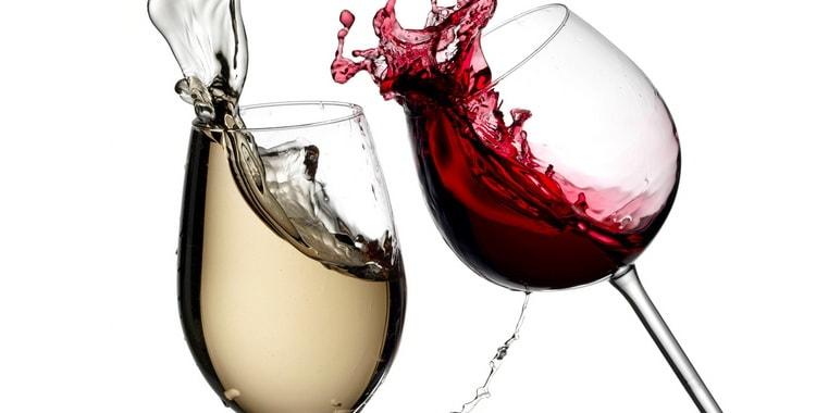 Чем отличается красное и белое вино
