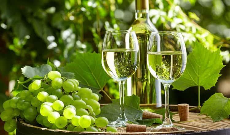 Особенности белого вина