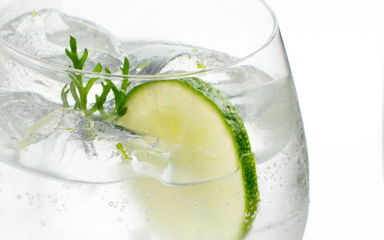 коктейль джин тоник с огурцом