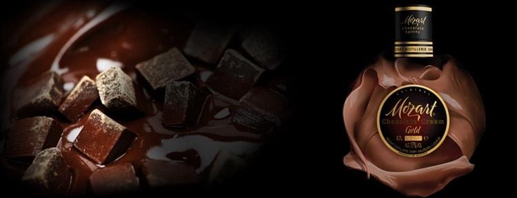 chocolate cream mozart gold chocolate