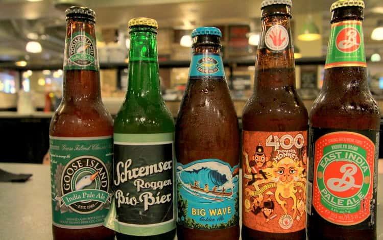 Какие есть виды крафтового пива