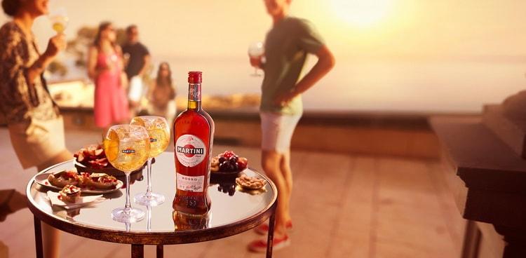 С чем подают мартини Розато