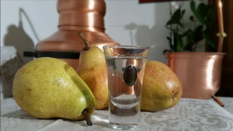 самогон из груши в домашних условиях простой рецепт