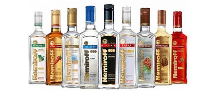 Водочные спирты классификация